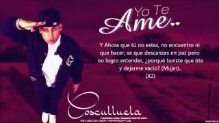 Cosculluela  'yo Te Ame'  Con  New Romantic Reggaeton 2013