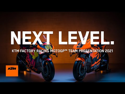 KTMが新型のMotoGPマシンを発表!MotoGP 2021 KTMプレゼンテーションライブ配信動画