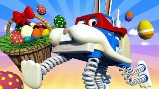 Videa s náklaďáky pro děti - Velikonoce: Velikonoční králíček