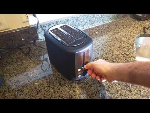 , AmazonBasics 2-Slice Toaster
