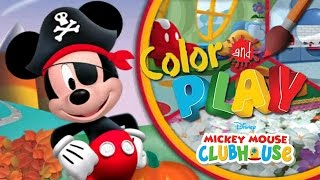 Mickey Mouse Clubhouse - Full Episodes of Color and Play Game by Disney (Halloween Theme) - Gameplay