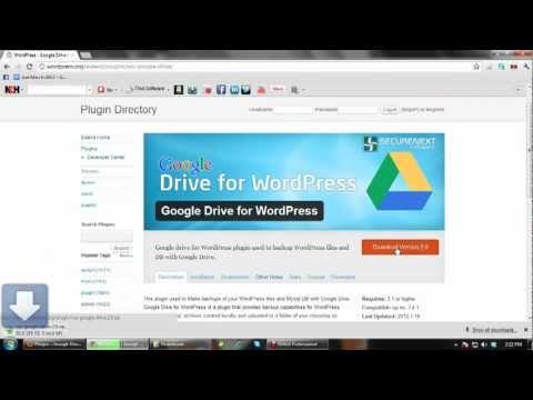 Google drive for WordPress Backup - ShEnBaGaM NaTaRaJaN