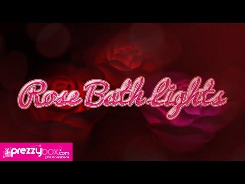 Floating Rose Bath Lights