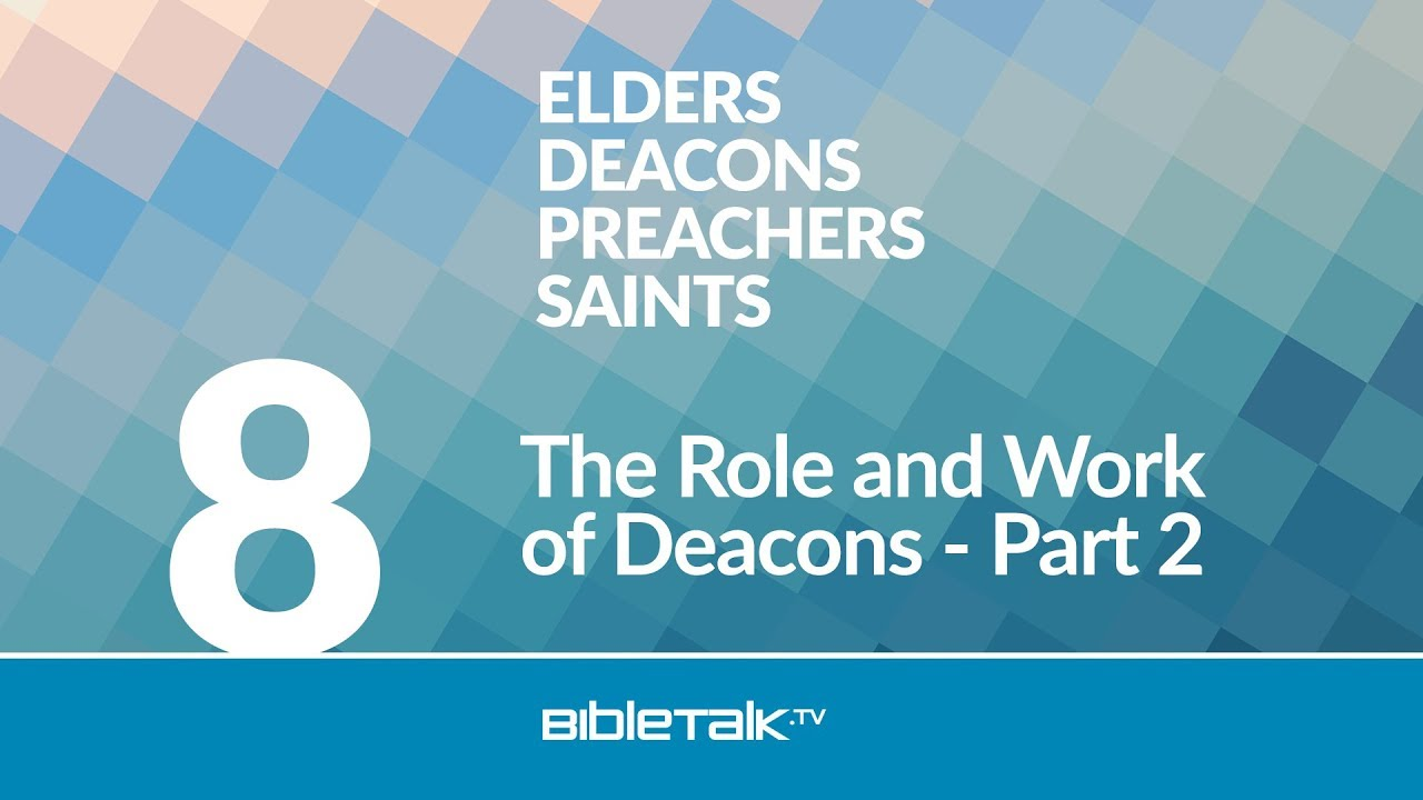 The Role Of An Interior Designer: The Role And Work Of Deacons: Part 2
