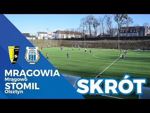 Skrót meczu Mrągowia Mrągowo - Stomil Olsztyn 0:9