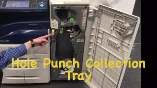 Replacing Staple Cartridges And Emptying Hole Punch by MRC a Xerox Company