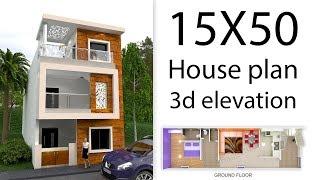15x50 house design 3d - Kênh video giải trí dành cho thiếu