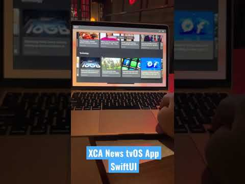 XCA News tvOS App SwiftUI #shorts thumbnail