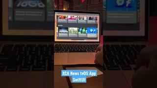 XCA News tvOS App SwiftUI #shorts