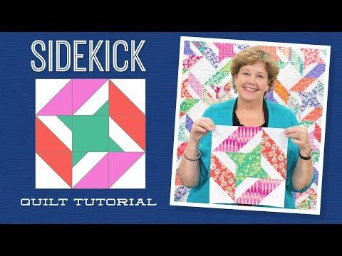 "Make a ""Sidekick"" Quilt with Jenny!"