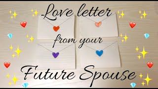 💌 Pick a Letter! ✨ Channeled Message from Your Future Spouse 💕 +song!