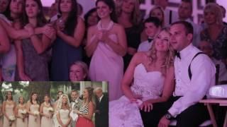 WEDDING SAME DAY EDIT - Reaction Cam On Bride & Groom! Priceless!
