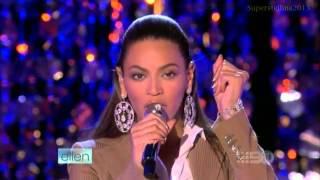 Beyoncé: If I Were A Boy   (Live On Ellen Show)   HD