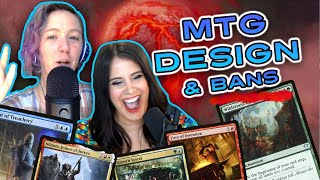 Magic The Gathering Design Philosophy (Does It Need To Be Changed?) And Bans | MTG GLHF Podcast