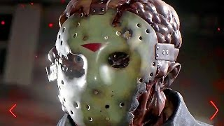 Friday The 13th The Game Jason Voorhees Kills Gameplay - Release Date Announcement