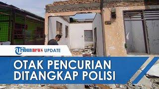 Pelaku yang Gasak Rumah di Medan hingga Tinggal Puing Tembok Ditangkap, Ternyata Ini Sosoknya