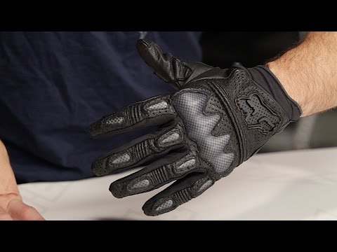Fox Racing Bomber S Gloves Review at RevZilla.com