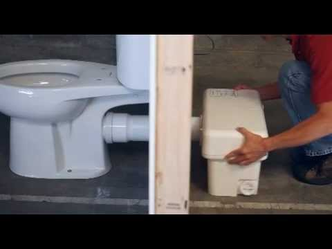 Liberty Ascent II RSW Mascerating Toilet System with Round Bowl Video