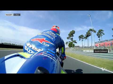 Suzuki Ecstar OnBoard: SHARK Helmets Grand Prix de France