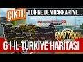 Euro Truck Simulator 2 61 İL GERÇEK TÜRKİYE HARİTASI İlk İzlenimler 1 Bölüm