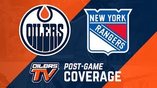 ARCHIVE | Post-Game Coverage – Oilers Vs. Rangers