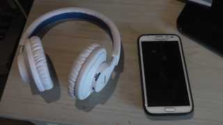 Philips SHB7000 Wireless Headset Full Review! Bluetooth With Galaxy Note 2!