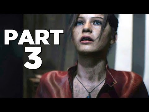 Mr X ALREADY?? | Resident Evil 2 Remake Claire B Gameplay