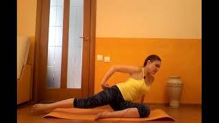 Смотреть онлайн Курс калланетики для дома с упражнениями