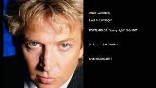 ANDY SUMMERS - eyes of a stranger (Portland,OR  5-8-87)