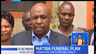 Funeral services for the late Kenneth Matiba will be held on Wednesday and Thursday