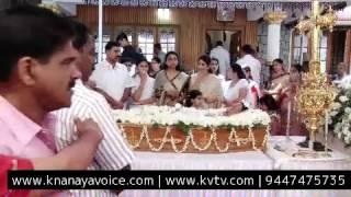 KVTV Live |chakkampuzha kuriackose funeral part 5