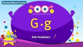 Kids từ vựng biên soạn - Words bắt đầu với G, g