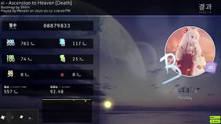 ascension to heaven +dt 92.48% 8xmiss