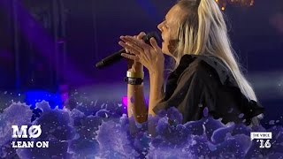 MØ 'Lean On' live fra The Voice '16