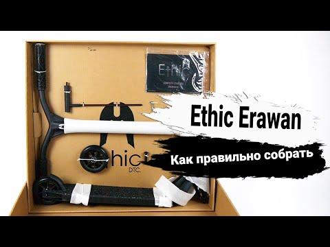 Самокат Ethic Erawan Brushed LTD