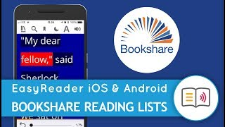 Browse Reading lists from Bookshare, with EasyReader!