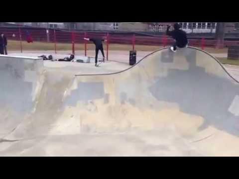 Rune Glifberg at Camden Skatepark