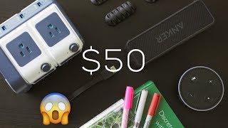 Dorm Room Tech Every Student Needs Under $50!