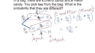 Probability With Tree Diagrams