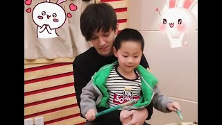 Cute young Dimash talking about his singing vocal range