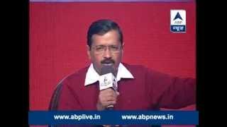 Full UNCUT VIDEO ll Watch Arvind Kejriwal in ABP News' Show GhoshanaPatra