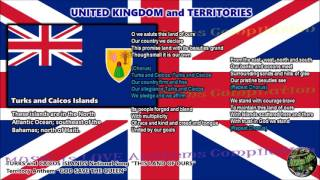 Turks and Caicos Islands National Song/Local Anthem THIS LAND OF OURS with music, vocal and lyrics