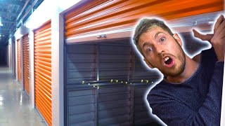 STORAGE UNIT SURVIVAL BUNKER!