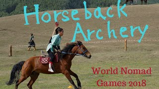 Horseback Archery // World Nomad Games 2018 // Kyrchyn Village, Kyrgyzstan