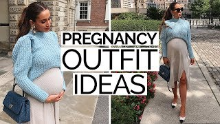 How To Dress Cute & Stylish While Pregnant | Pregnancy Outfit Ideas