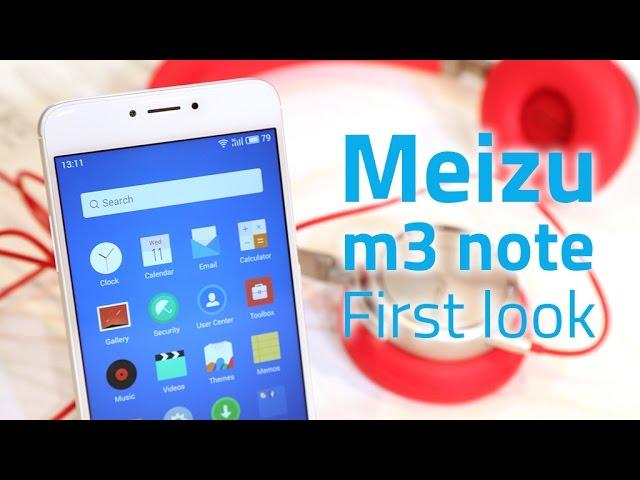 Meizu m3 note First Impressions | NDTV Gadgets360 com