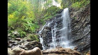 Путешествие по Карпатам. Водопад Гук.