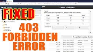 How to Fix The 403 Forbidden Error [Step by Step] ☑️