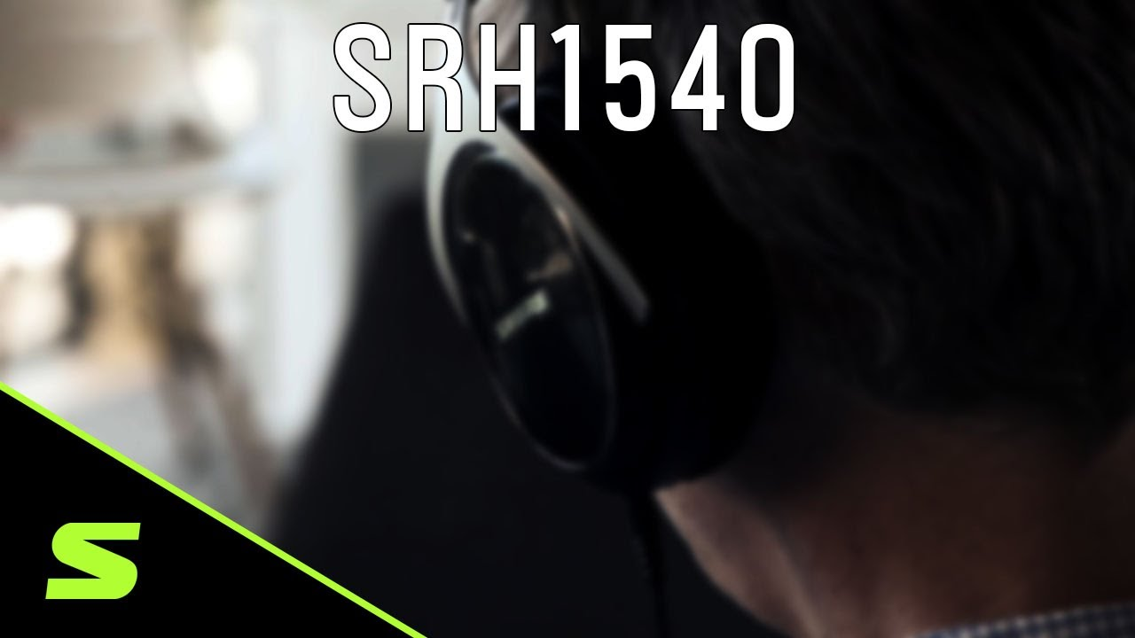 Shure Headphones: SRH1540