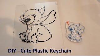 DIY - Cute Plastic Keychain